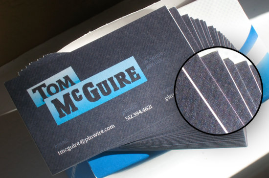 Vistaprint Business Card FAIL!